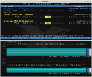 iso do Debian concluída...
