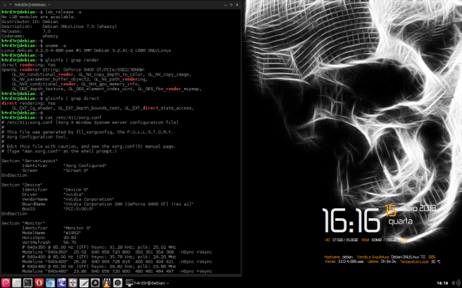 Wheezy + OpenBox & Kernel Liquorix 3.8-13