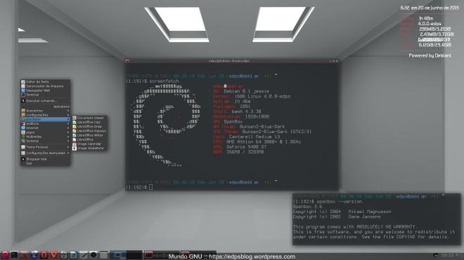 Debian Jessie + OpenBox 3.6