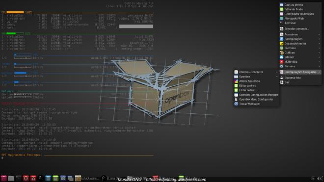Debian Wheezy + OpenBox & obmenu-generator