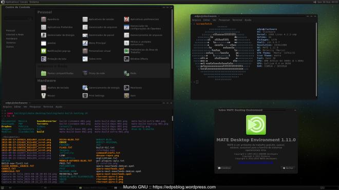 um show! fácil de empacotar e bastante atual, a ressalva é o consumo de RAM: quase 3x maior que no Debian.