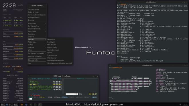 kernel gentoo-sources 4.6.0 no Funtoo + OpenBox