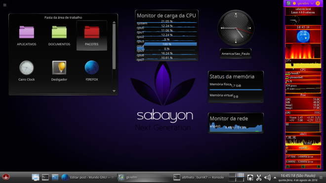 CPUBurn, com Swap Normal.
