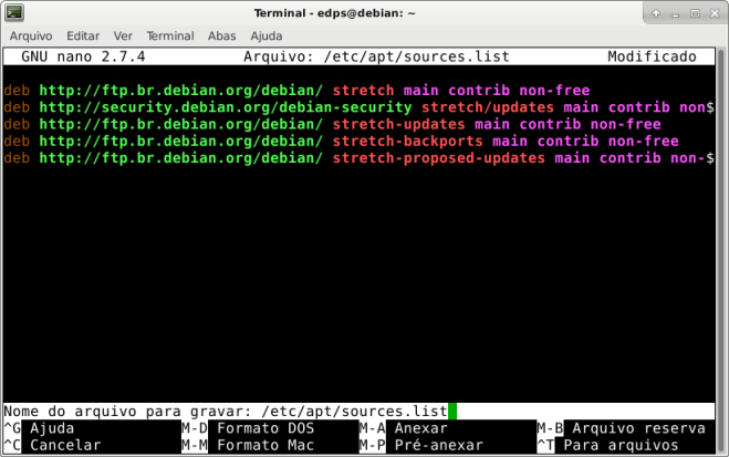 How-To :: Debian Stretch + Backports (pós-instalação) – Mundo GNU