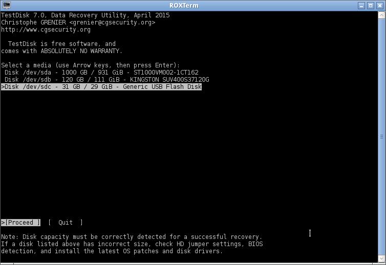 testdisk linux